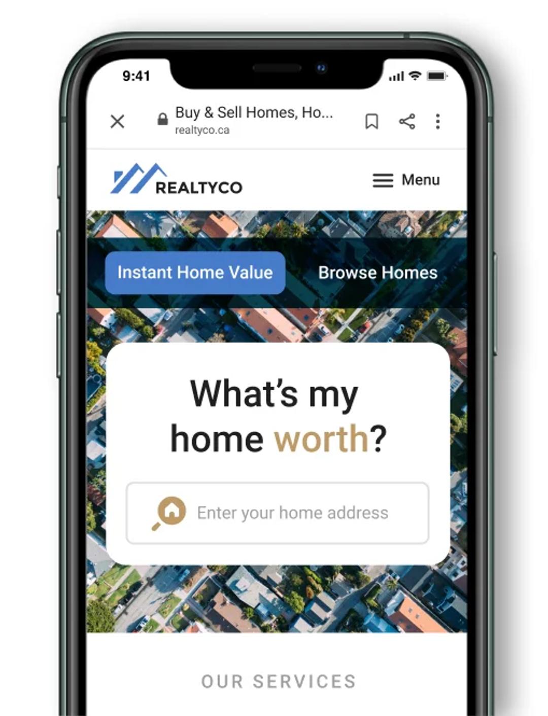 HonestDoor for business phone screen 1